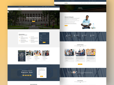 Eduguide  – Free Education Bootstrap Template