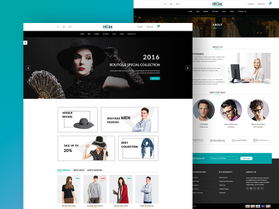 Freak - Free Boutique eCommerce Template