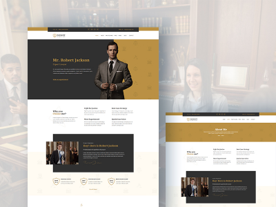 Adalot - Free Personal Lawyer Bootstrap4 Template